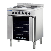 Electric Convection Oven & Cooktop | Turbofan E931M