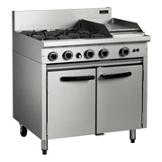 900mm Gas Static Oven Range