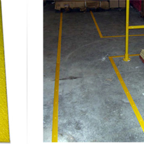 Fibreglass Grating | Safety Grip Line Marking