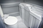 Portable Toilet Hire | Fresh Water Flush