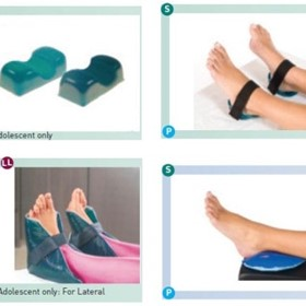 Patient Positioning Ankle, Heel & Foot Gel Pads | Trulife