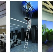 Fold Down Ladder | Vista Access Ladder Systems