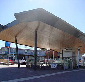 Architectural Linings | Nunawading Train Station