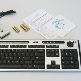 ASI Wireless Keyboard and Mouse Bundle - 450 UNITS ONLY!