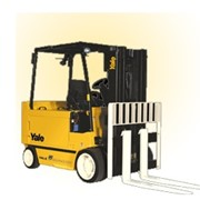 New 4 Wheel Electric Forklift for Sale | Yale ERC35HG