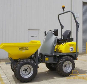 Site Dumpers | 2012 Wacker Neuson 1001