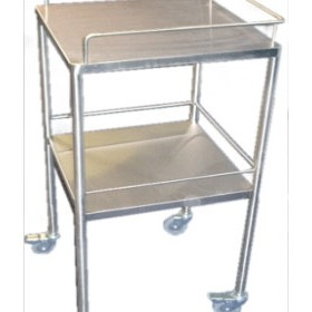 Dressing Trolley | Stainless Steel - 2 Shelf