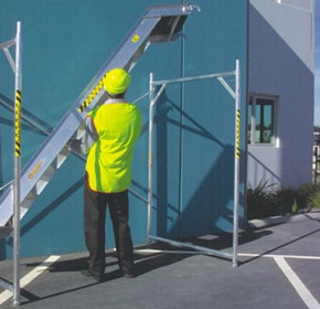 Aluminium Mobile Scaffolds | Scaffold Stairs 2.4m