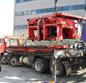 Lifting and Machinery Relocation