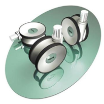 Twin Wheel Castors | Series 5944 & 5946 | Linea
