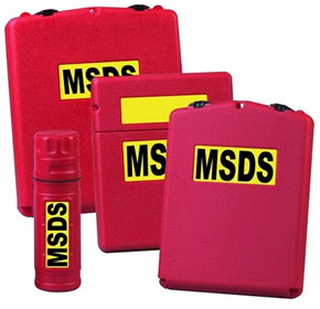 Safety Products | MSDS Holders & Manifest Cabinets