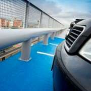 A-SAFE Single and Double Rail Armco Parking Barrier