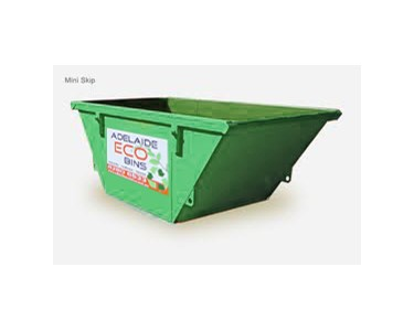 Skip bins for hire from Adelaide Eco Bins.