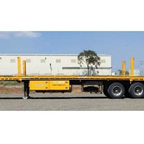 Trailer Hire | Flat Top Extendable Trailer 45-72ft