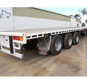 48FT Flat Top Trailer | 2000 Lucar