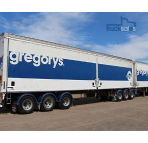 Double Set Trailer | 2004 Vawdrey Tite Liner B