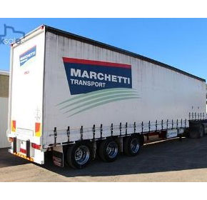 1997 44.5FT Drop Deck Curtainsider Trailer | Krueger