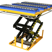 Scissor Lift Table Custom Top