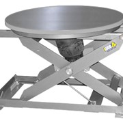 Scissor Lift Table | Pneumatic Lift Table | Pal-Air in Stainless Steel