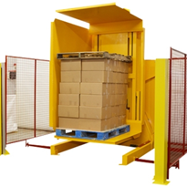 Pallet Inverter | Dual Clamp