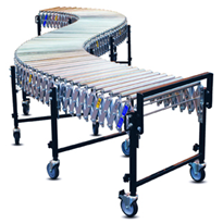 Flexible Conveyors | Gravity Flex | Roller