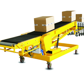 Telescopic Belt Conveyors | Dockless Trailer Loader