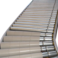 Line Shaft Conveyors | Curved