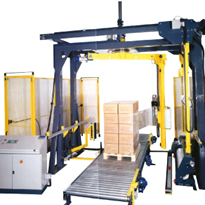 Rotary Arm Pallet Wrapper | Fully Automatic