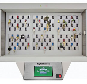 KeyWatcher Touch Illuminated System | 6 Module Security Cabinet