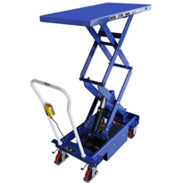 Double Scissor Lift Trolley | Electric