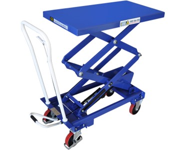 Double Scissor Lift Trolley - Manual