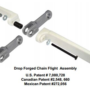 Flight installation and chain assembly made easy