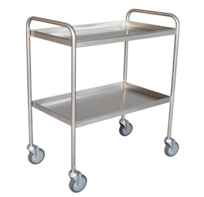 Tray Trolley | Stainless Steel