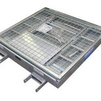 Safety Work Cages | Mesh Platform