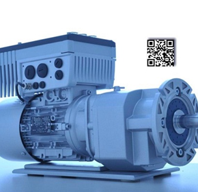 Geared motors with a smart head for positioning tasks