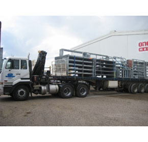 Road Freight Transport | Timber, Hay, Steel & Aluminium