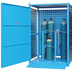 Gas Cylinder Storage | Single Sided Relocatable