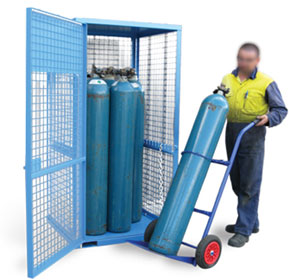 Gas Cylinder Storage Cage | Heavy Duty