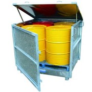 Fully Enclosed Drum Storage