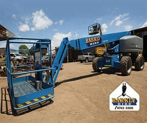 At the heart of the success of Barkly Hire is the Genie brand.