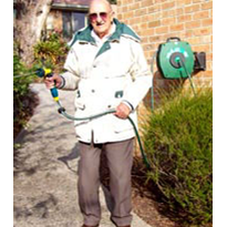 Customer testimonial: hose appliance attached to retirement unit