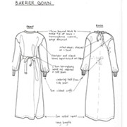 Physiotherapy Gowns | Barrier Gown