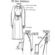 Physiotherapy Gowns | F22 Orthopaedic Gown (Traditional)