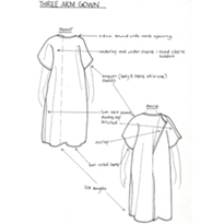 Gynaecological Gowns | Three Arm Gown