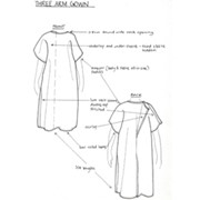 Dental Gowns | Three Arm Gown