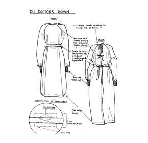Gynaecological Gowns | D11
