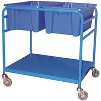 Order Picking Trolleys | Double Tub