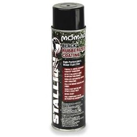 Aerosol Black Rubberised Coating | Stallion by Momar