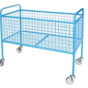 High Platform Mesh Trolley