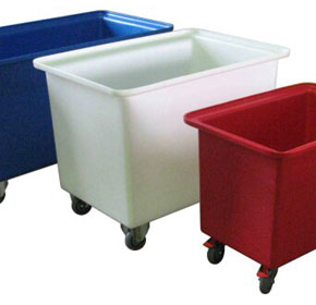 Plastic Containers | Rectangular Tubs & Dollies
